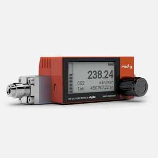 Цифровые массовые расходомеры с питанием от батареи и дополнительным игольчатым клапаном Vogtlin